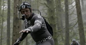 Andy Serkis using performance-capture tech