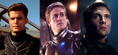 Casper Van Dien (Starship Troopers), Charlie Hunnam (Pacific Rim), Jai Courtney (Terminator Genisys)