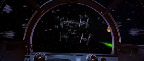 Endor Space Battle Return of the Jedi