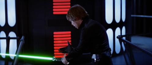 Luke Vader Battle Return of the Jedi