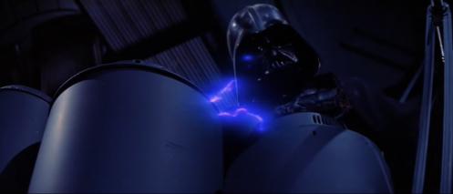 Vader Reactor Shaft Return of the Jedi