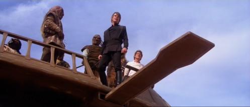 Luke Sarlaac Return of the Jedi