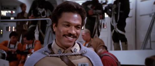 Lando Calrissian Return of the Jedi