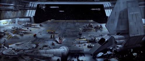 Return of the Jedi Rebel Hangar