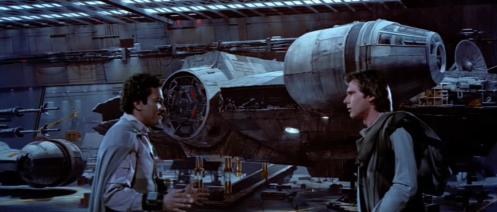 Lando Han Millennium Falcon
