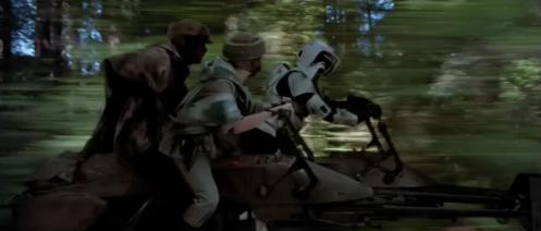 Luke Leia Scout Trooper Speederbike
