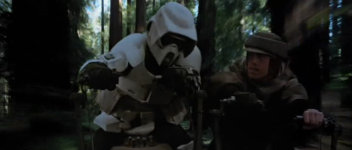 Luke Scout Trooper Speederbike