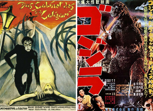 Gojira & The Cabinet of Dr. Caligari