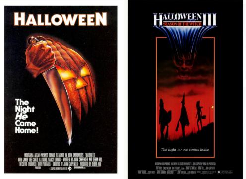 Halloween 1978/ Halloween 3 1982