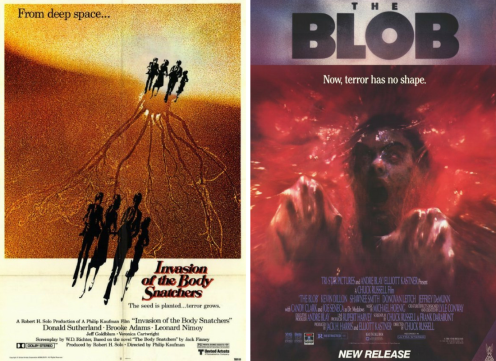 invasion of the body snatchers 1978/the blob 1988