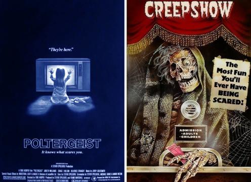 poltergeist 1982/creepshow 1982