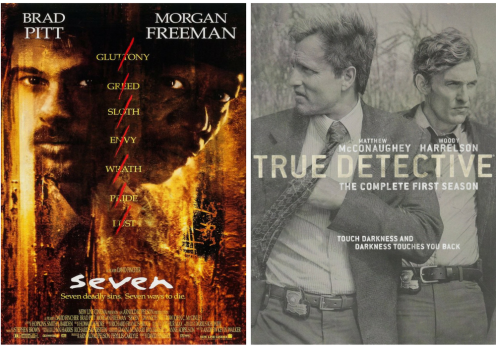 Seven and True Detective... horror or not?