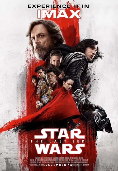 Star Wars The Last Jedi IMAX Poster