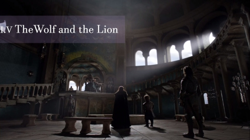 Game of Thrones, The Wolf and the Lion, Tyrion
