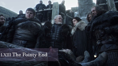Game of Thrones, The Pointy End, Samwell, Mormont