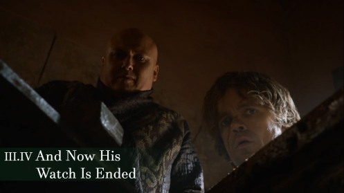 And Now His Watch Is Ended