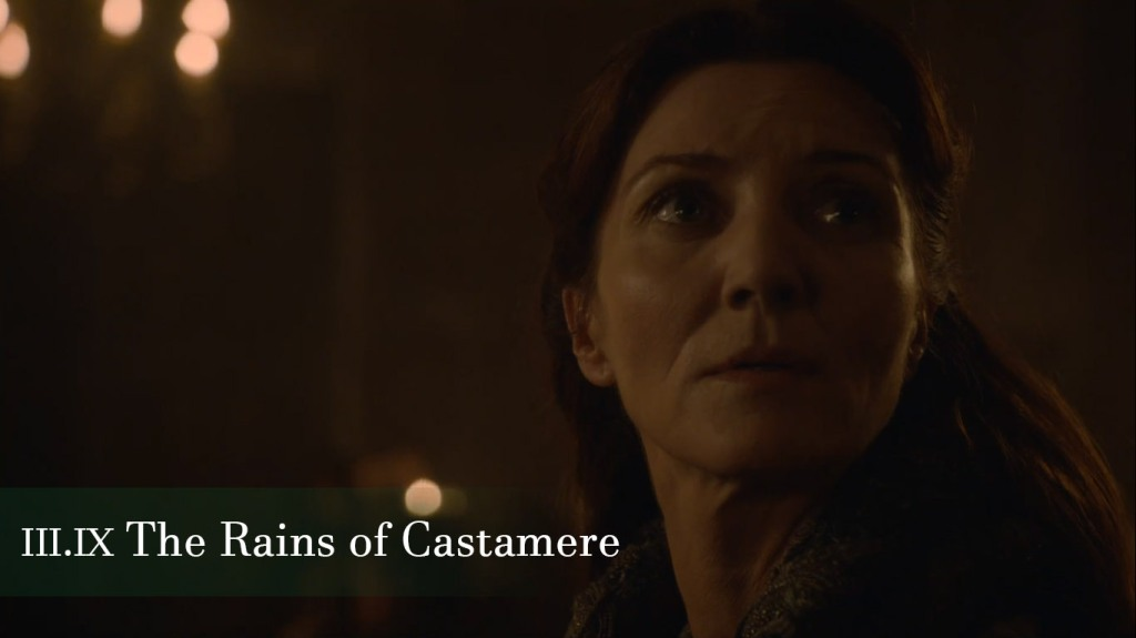 The Rains of Castamere Episode Game of Thrones