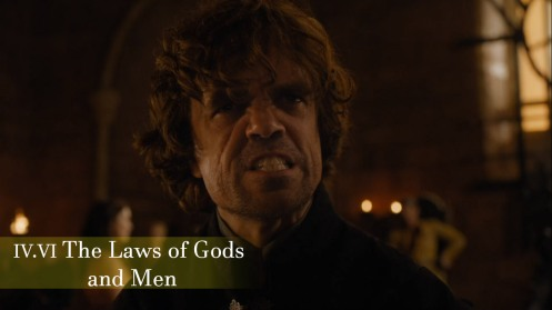 The Laws of Gods and Men Episode