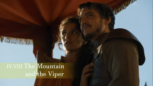 The Mountain and the Viper Episode