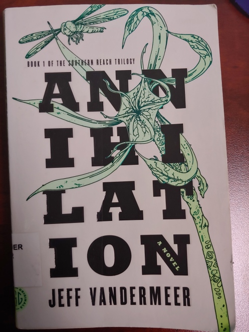 Annihilation Book Cover Jeff VanderMeer
