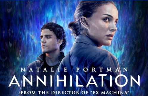 Annihilation Movie Poster Alex Garland