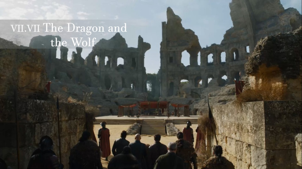 The Dragon and the Wolf Episode Game of Thrones