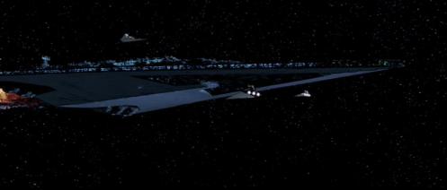 Super Star Destroyer Executor Empire Strikes Back