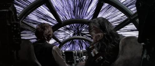 Millennium Falcon Hyperspace