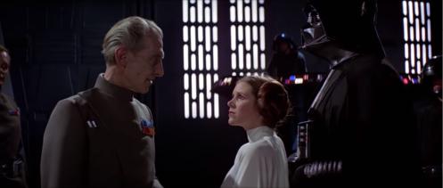 Tarkin Leia Vader
